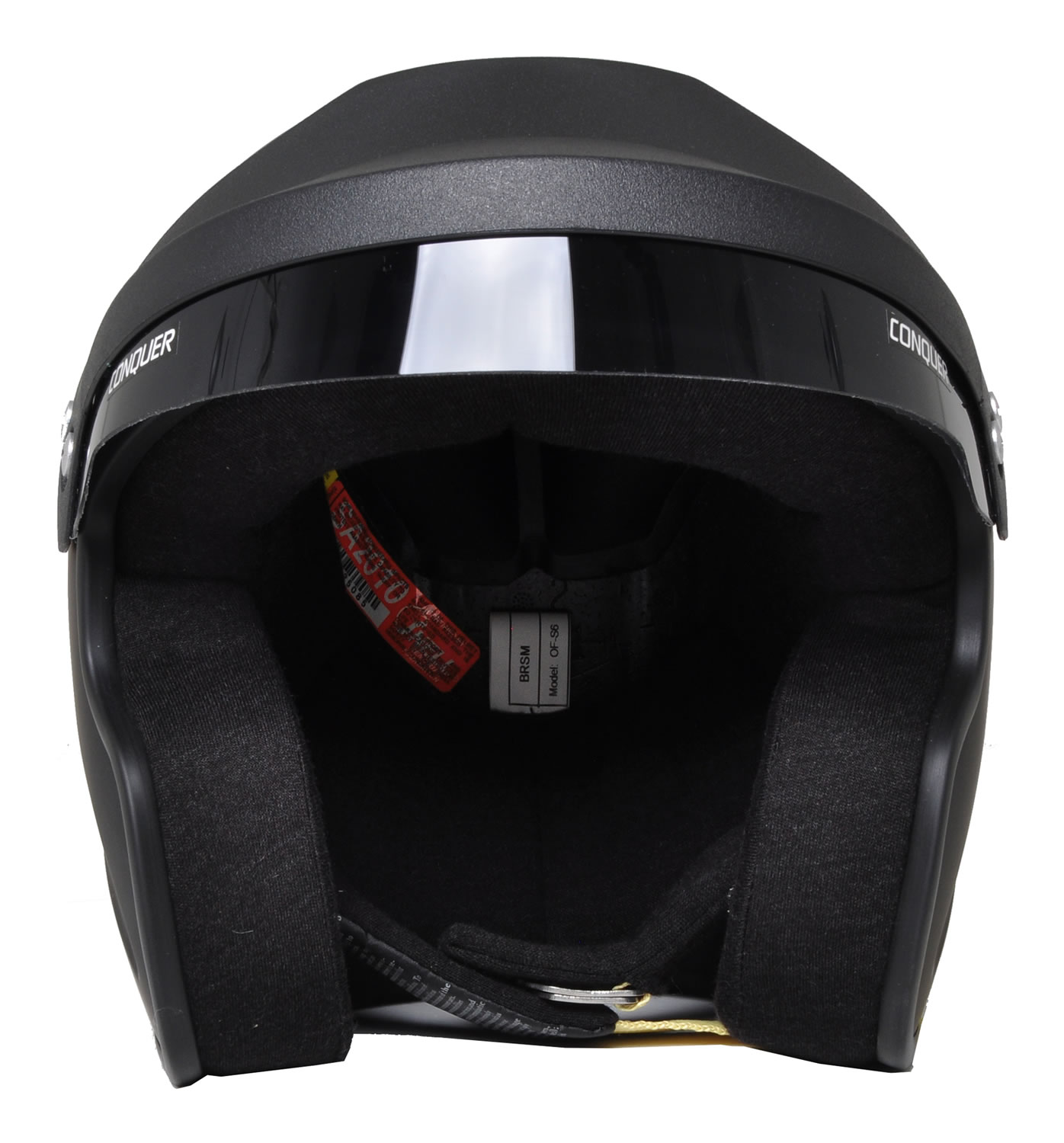 Snell Sa2010 Approved Open Face Racing Helmet Ebay