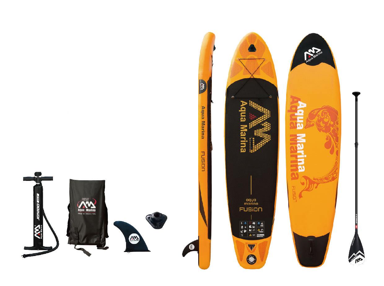 "Inflatable Paddle Board by Aqua Marina - Fusion - 10'10"""