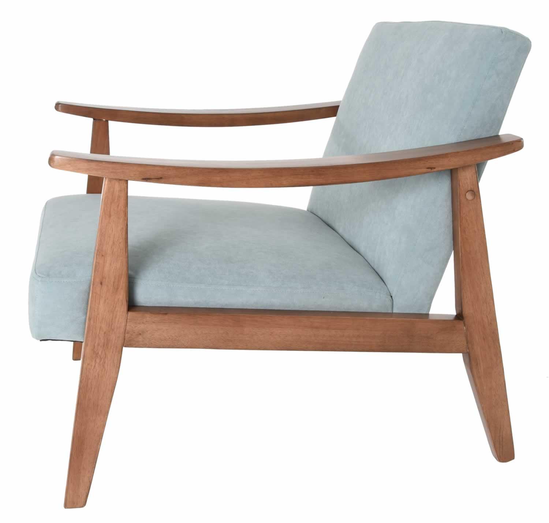 Mid Century Modern Armchairs: Zenvida Mid Century Modern Accent Armchair Solid Hardwood