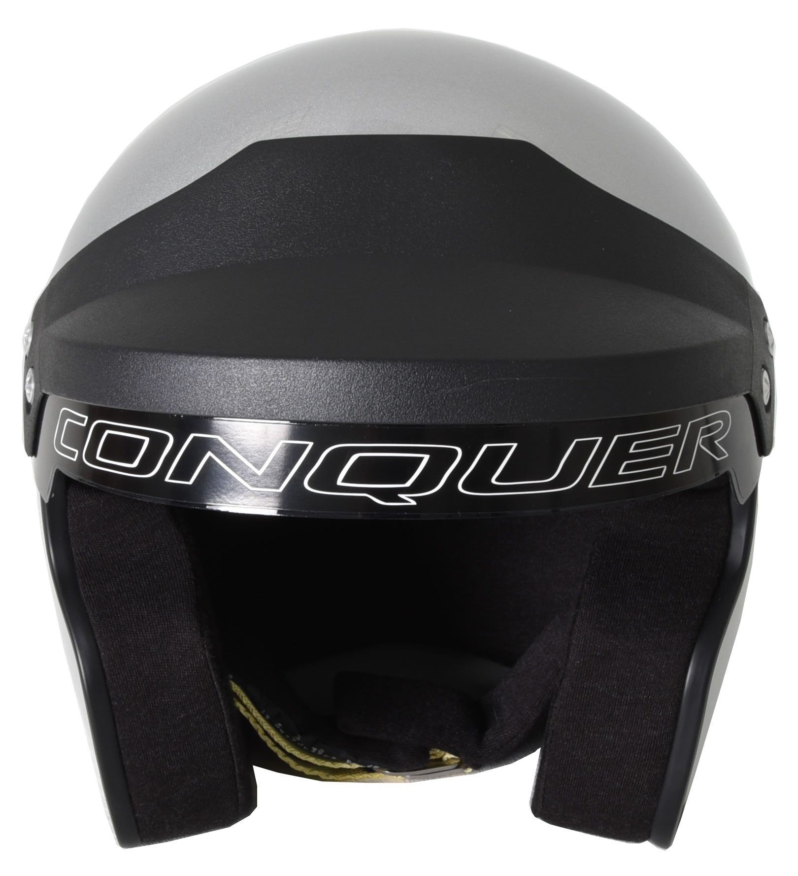 Conquer-Snell-SA2015-Approved-Open-Face-Racing-Helmet thumbnail 24