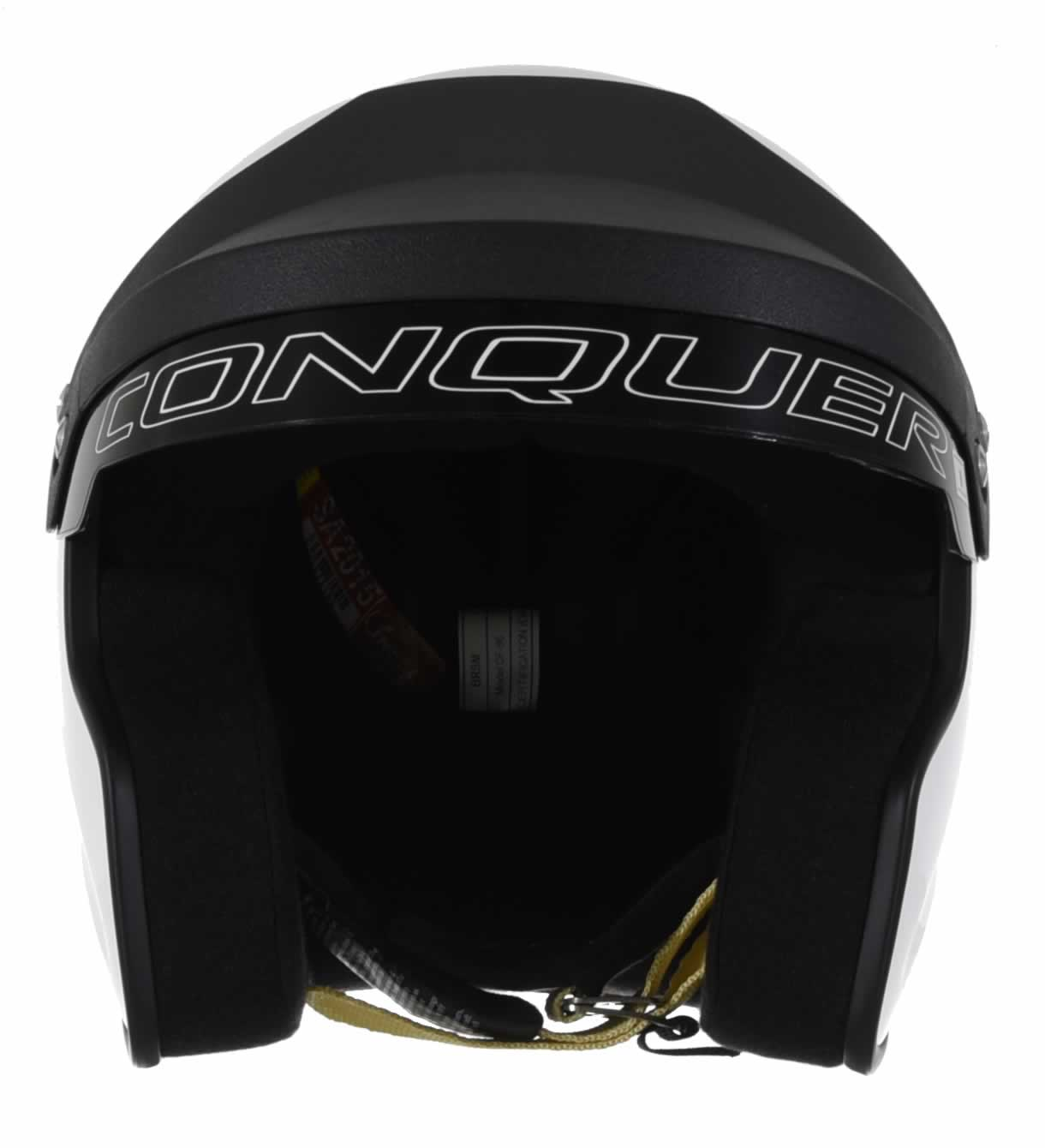 Conquer-Snell-SA2015-Approved-Open-Face-Racing-Helmet thumbnail 10