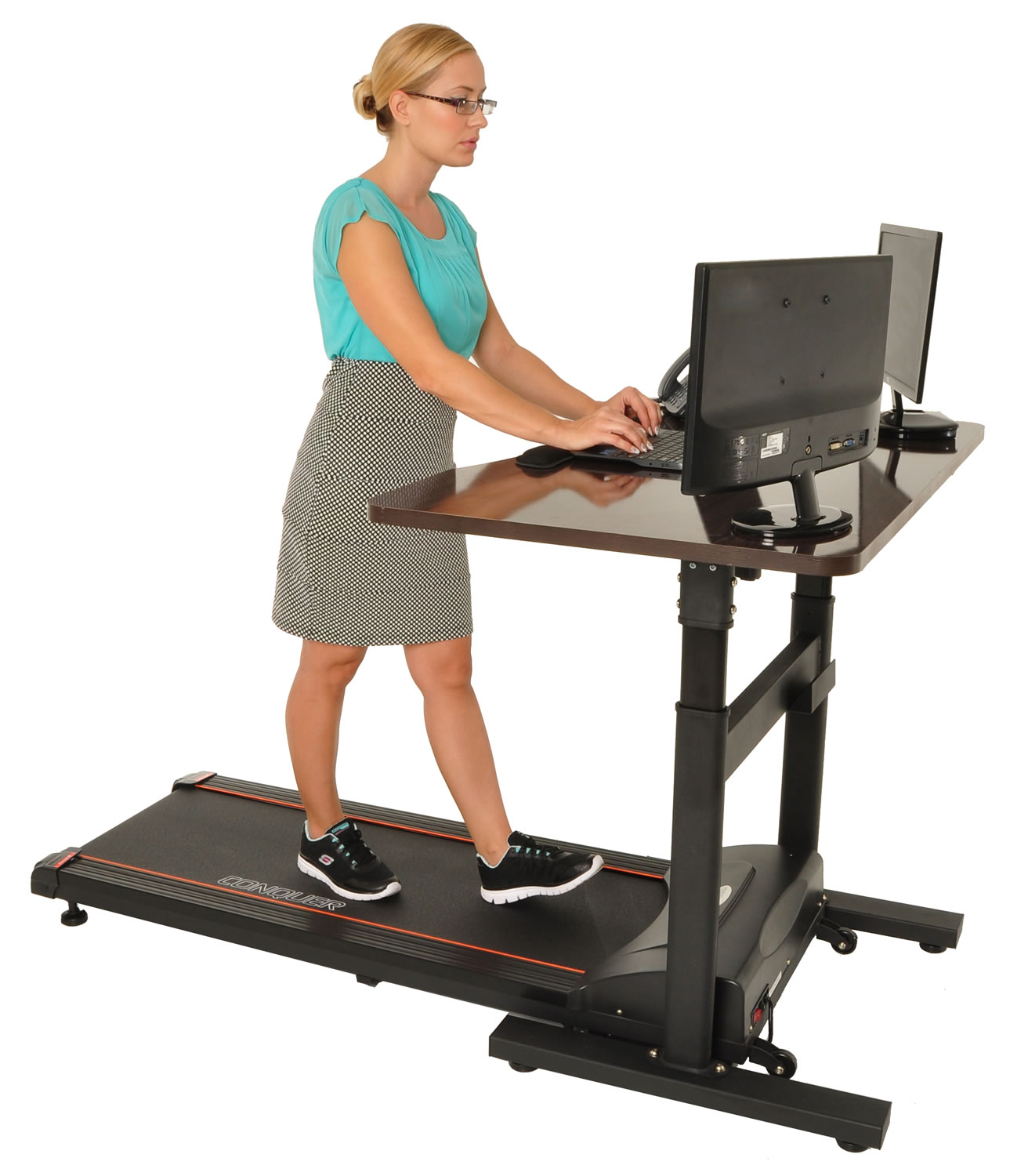 Treadmill For Desk At Work: Conquer Electric Treadmill Standing / Walking Desk